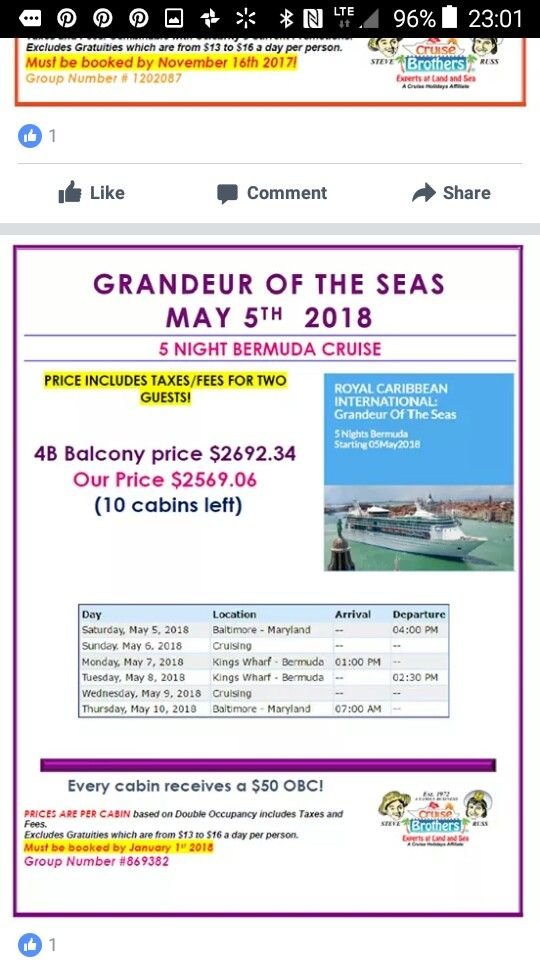 Pin By Cruise Brothers Mary Barrett I On Travel Deals Of