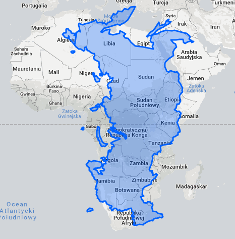 The True Size of Russia. - Maps on the Web | Earth and Geography ...