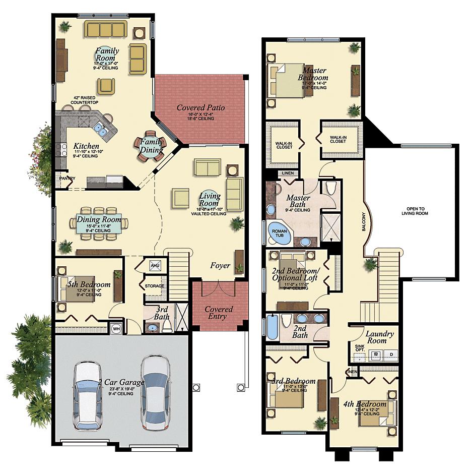Jamaica 46 Floor Plan Dream House Coastal House Plans House
