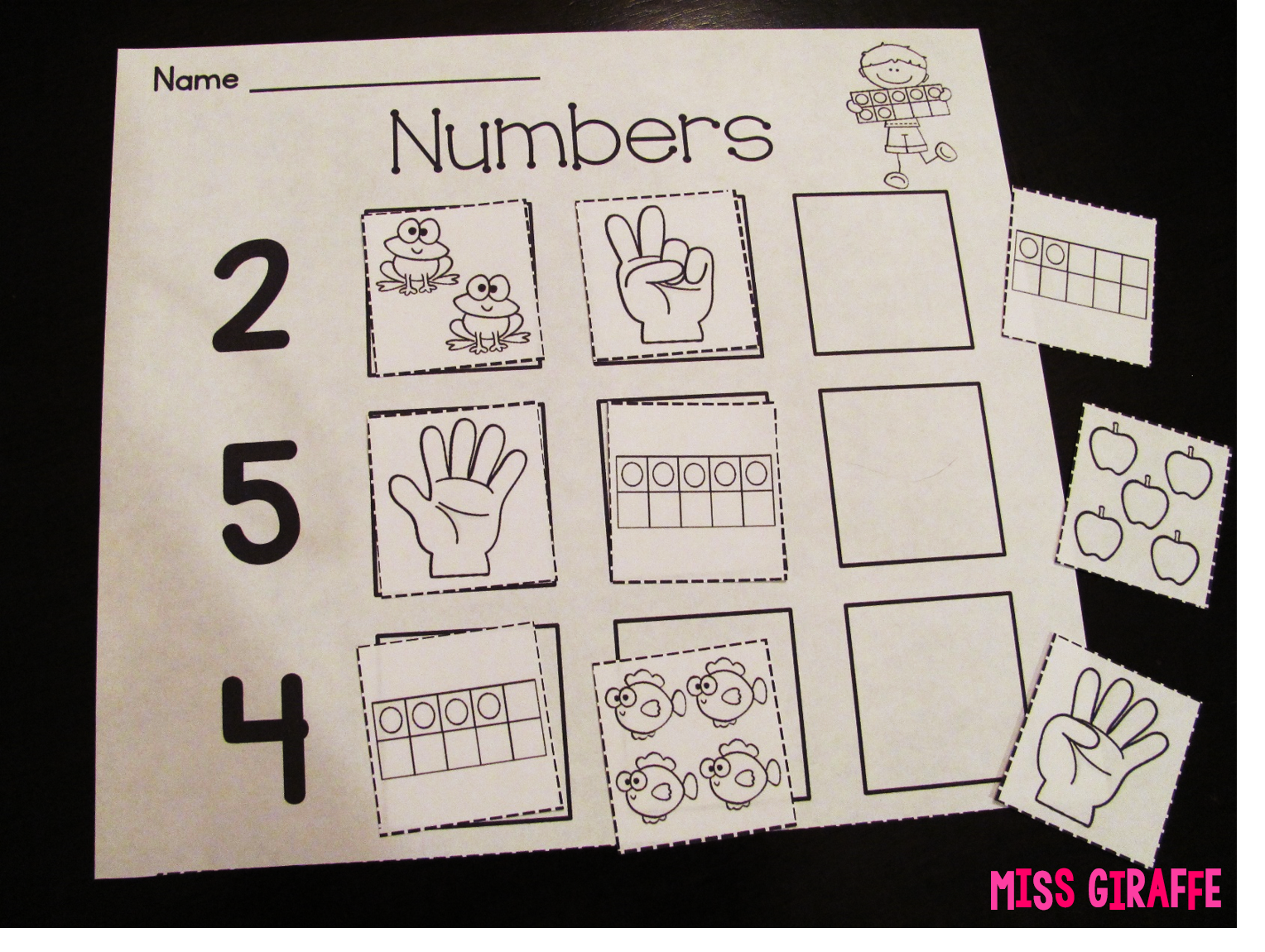 Great Ideas And Resources For Practicing Numbers