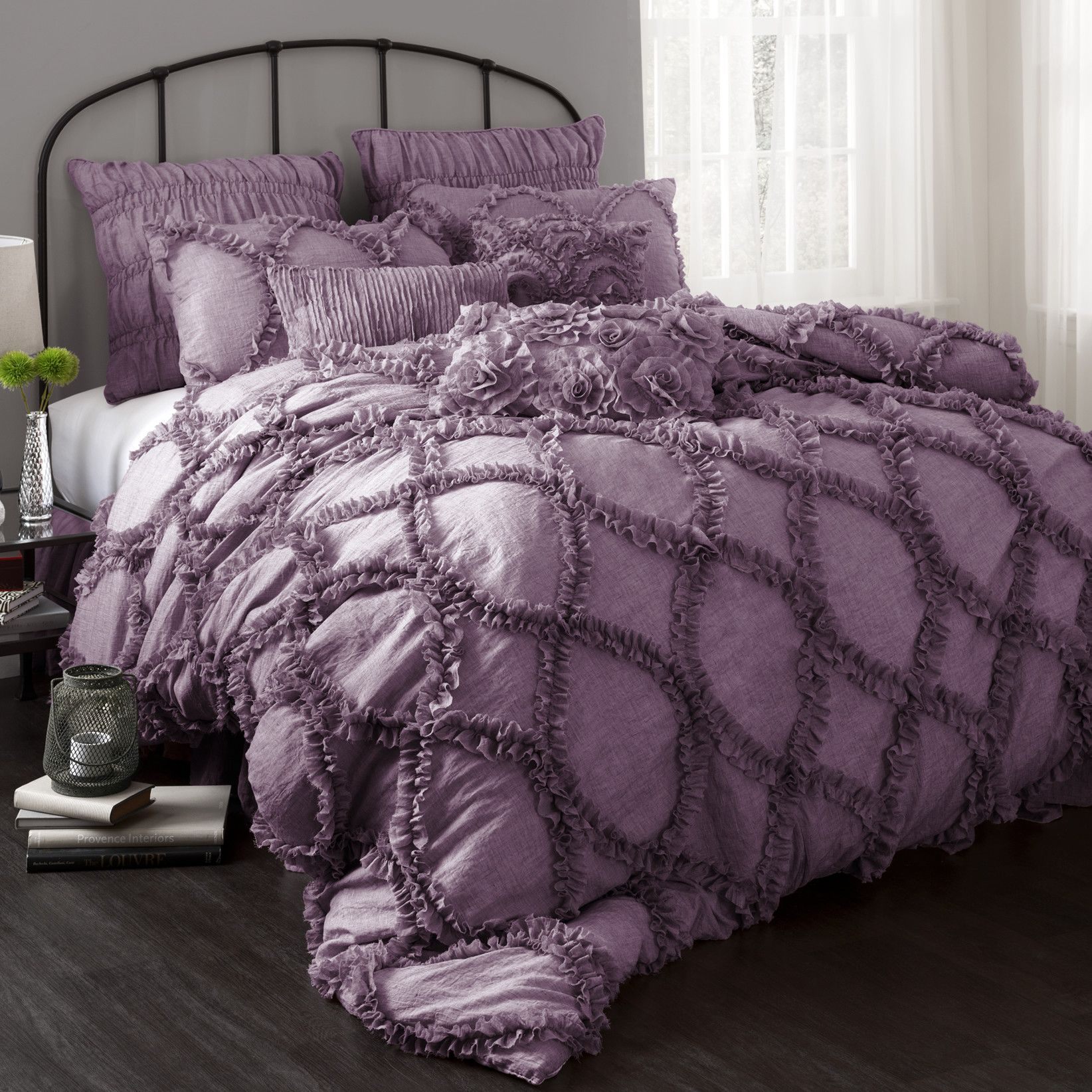 sets outstandingy purple full bedding gray uk bed outstanding queen comforter photos and grey magnificent green lavender baby pink