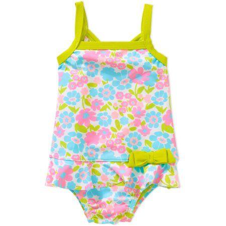 Child of Mine by Carter's Newborn Infant Girls 1 Piece Swimsuit, Online Exclusive, Newborn Girl's, Size: 3 - 6 Months, Yellow