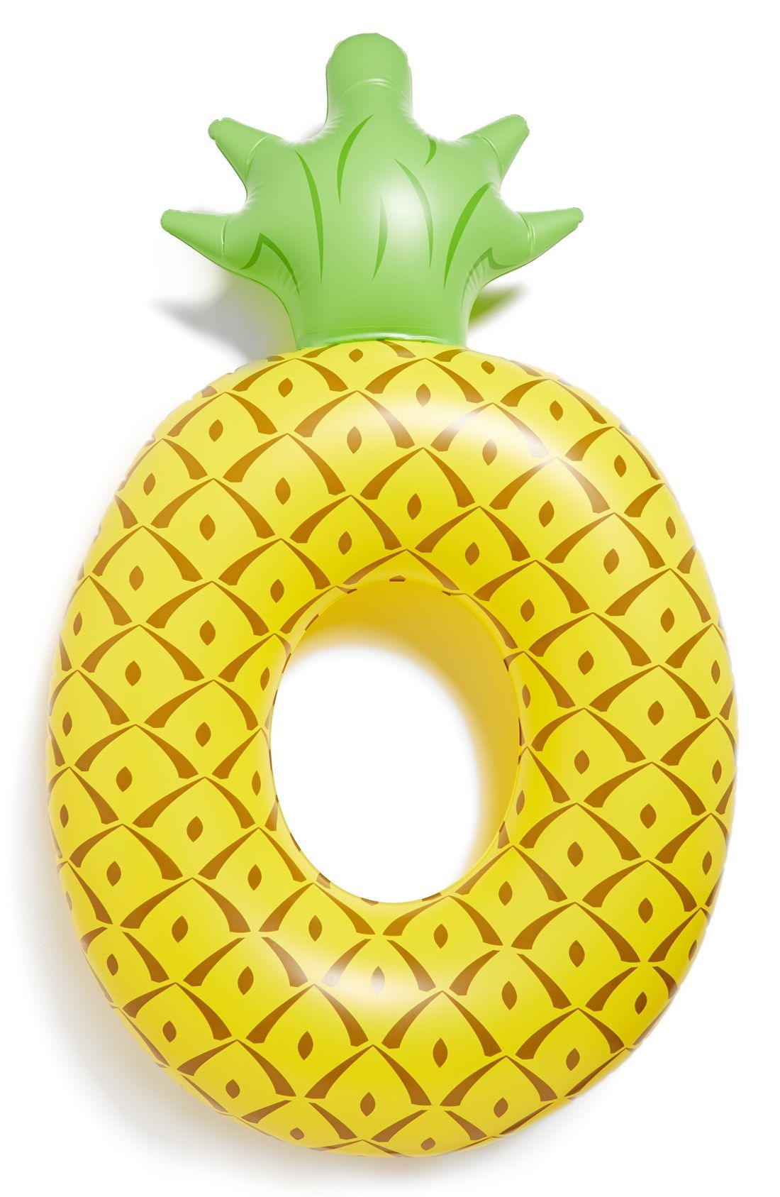 Large Pineapple Pool Float is part of Pineapple pool float, Pool floats, Pool floaties, Pineapple, Pool float, Pineapple parties - Get to your tropical happyplace faster when lazing on this huge pineappleshaped pool float made from heavyduty vinyl perfect for horseplay