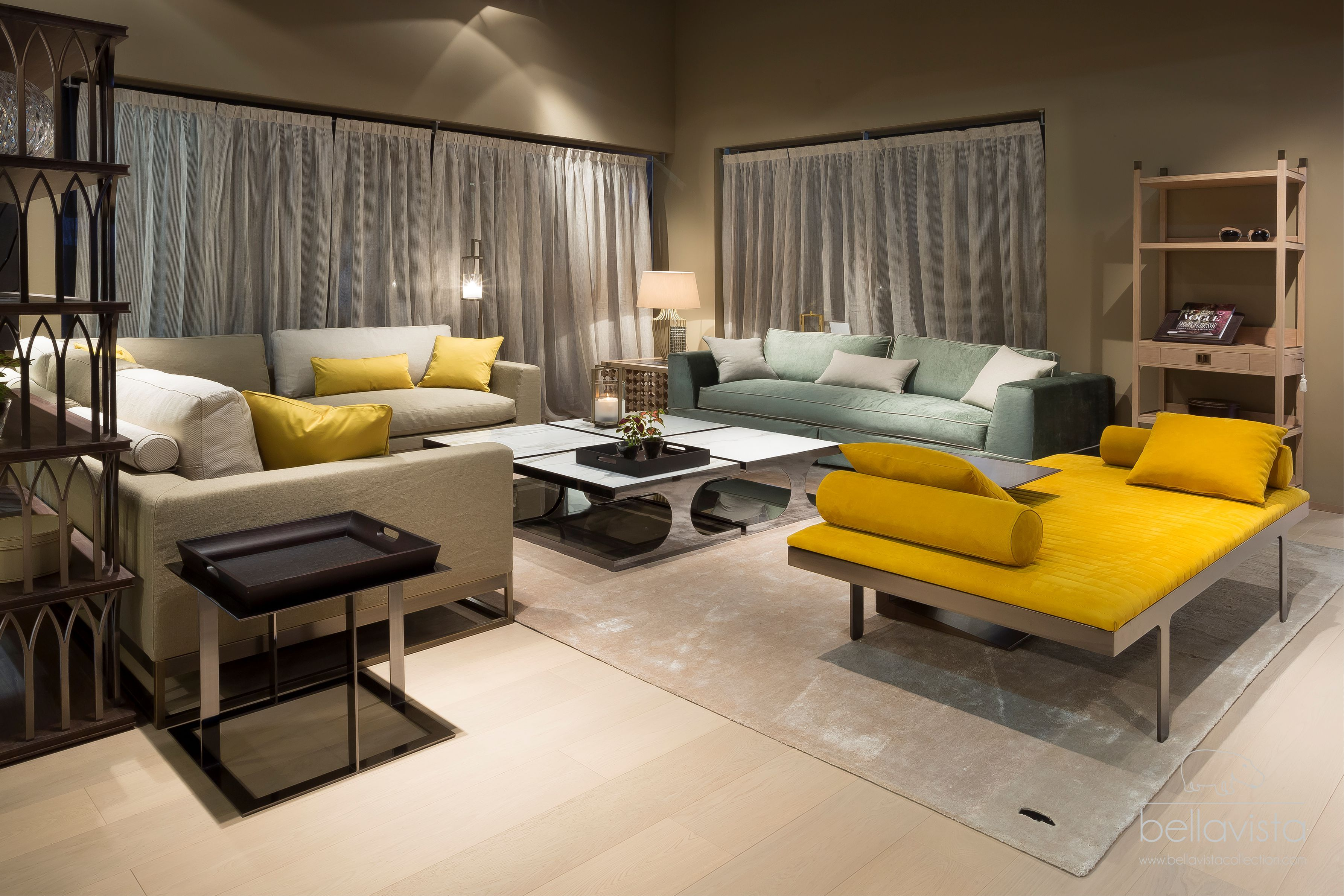 Living Room @ Salone Del Mobile, Milan, By Bellavista Collection. Luxury Italian  Furniture