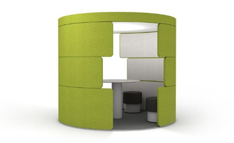 Futuristic Office Furniture Cubicle Work Space Coolest