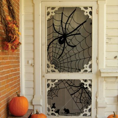 Halloween Door Decor Halloween decoration Heritage Lace® Tangled Web - pinterest halloween door decor