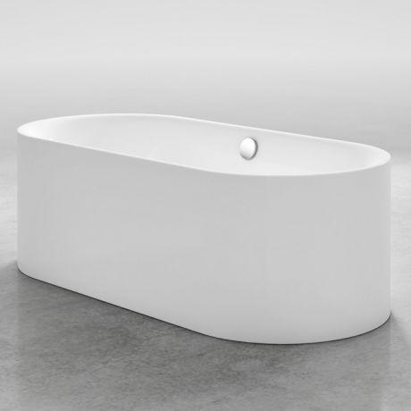 Bette Lux Oval Silhouette Freistehende Badewanne Aus Stahl