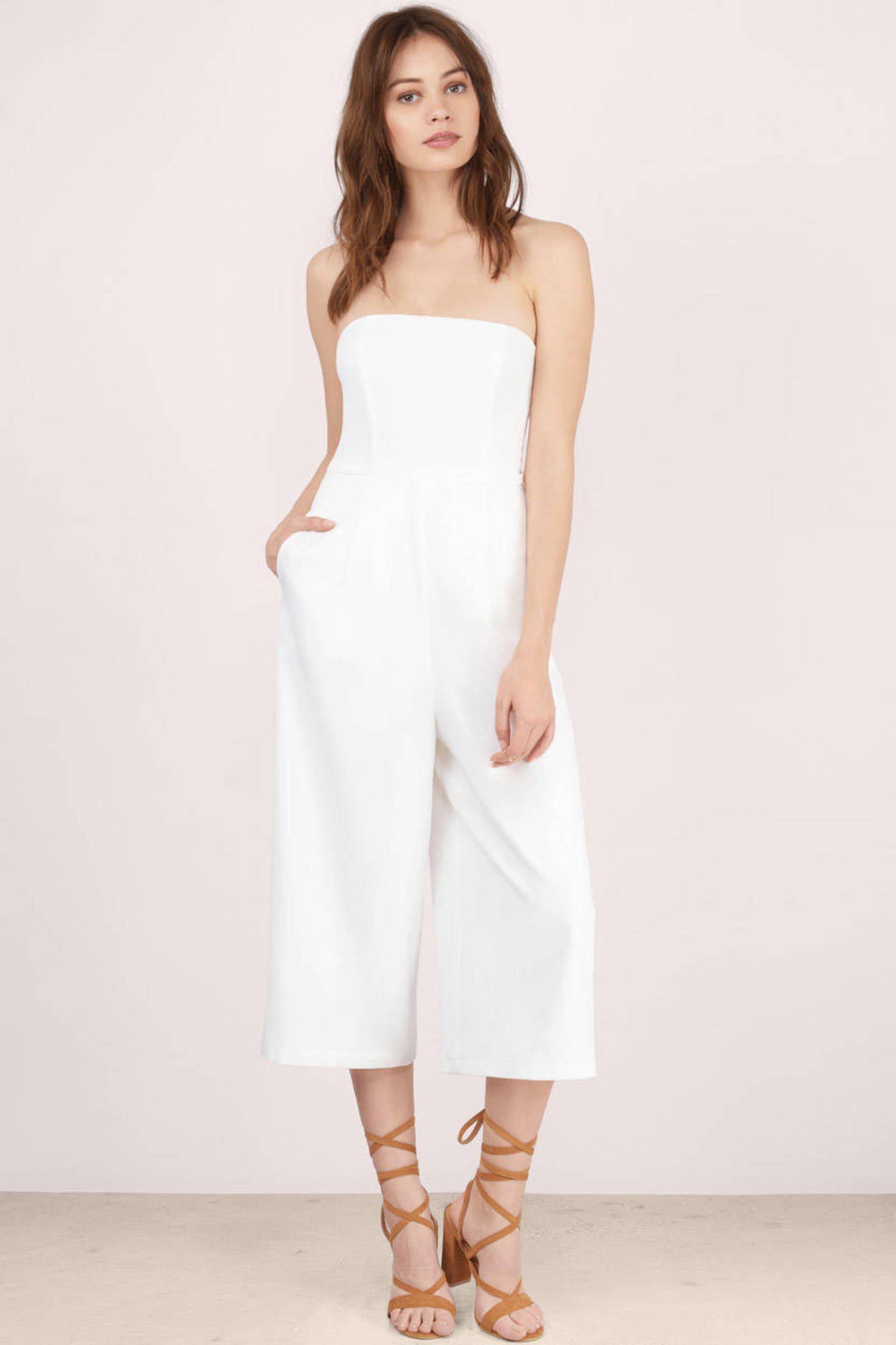 5e99108a8da4 Boss Lady Culotte Jumpsuit | Retail Therapy | Wedding jumpsuit ...