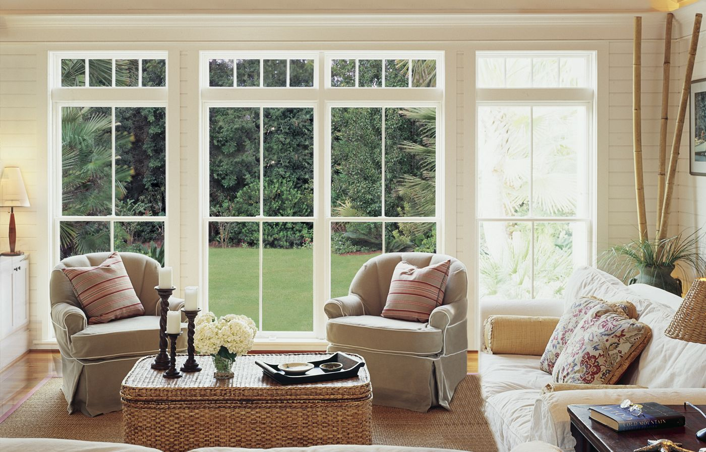 All About Wood Windows Coastal Beach Living Wooden