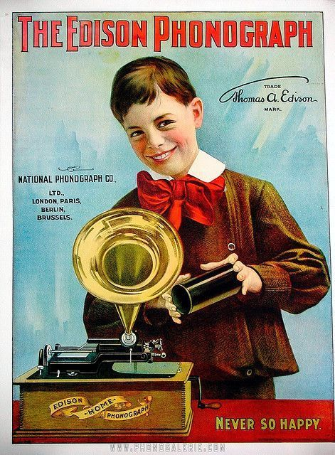 1800s Advertisements | Vintage Advertisement - The Edison ...