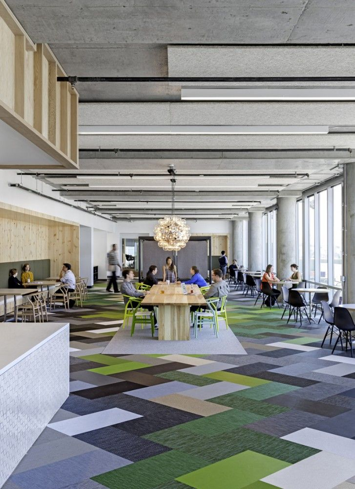office floor design. Modren Design Some Nice Color Blocking And An Interesting Mix Of Eames Wegner  Chairs Cisco Offices  Studio OA Intended Office Floor Design Pinterest