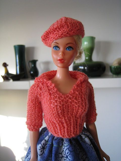 Ravelry: Barbie Pullover with Sailor Collar pattern by Kelly Mullan ...
