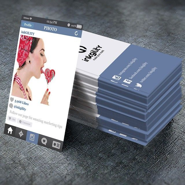 promote your instagram page portfolio  business with