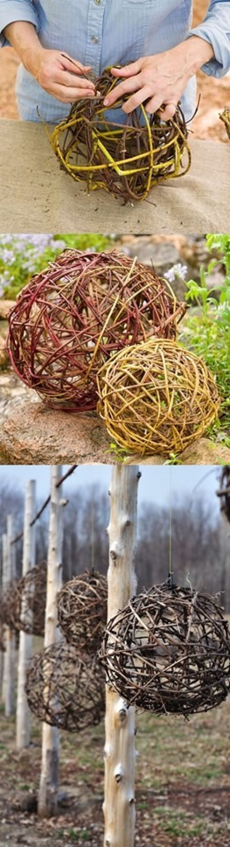 Round And Attractive Garden Decor That You Can Create Yourself #projekteimfreien Round And Attractive Garden Decor That You Can Create Yourself - Tiredbee.com #projekteimfreien