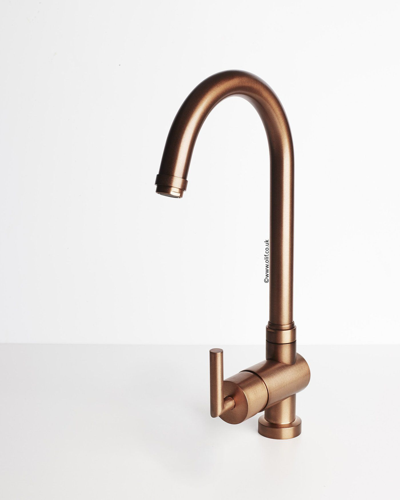 Alto Rustic Copper, kitchen mixer tap | Bennett St ideas