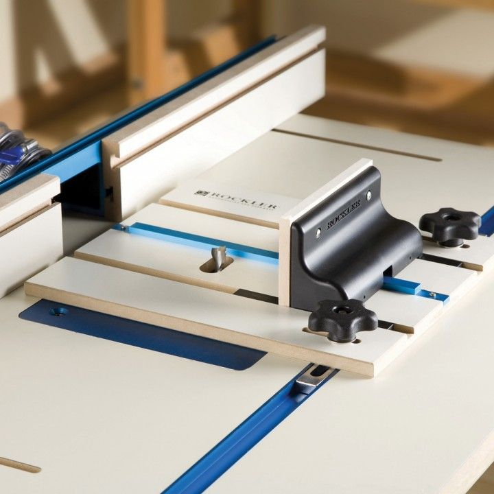 Rockler Router Table Box Joint Jig Router Table