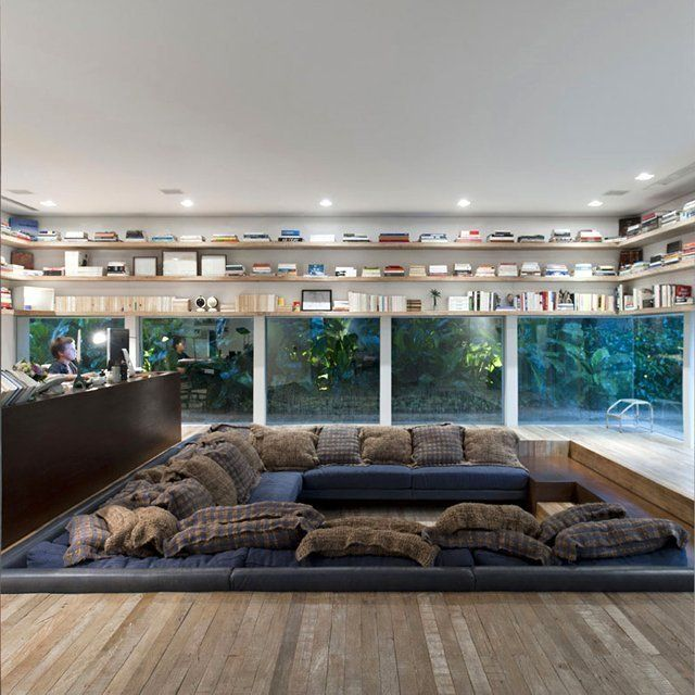 Sunken Living Room Houzz: Yucatan House By Isay Weinfeld @ São Paulo, Brazil