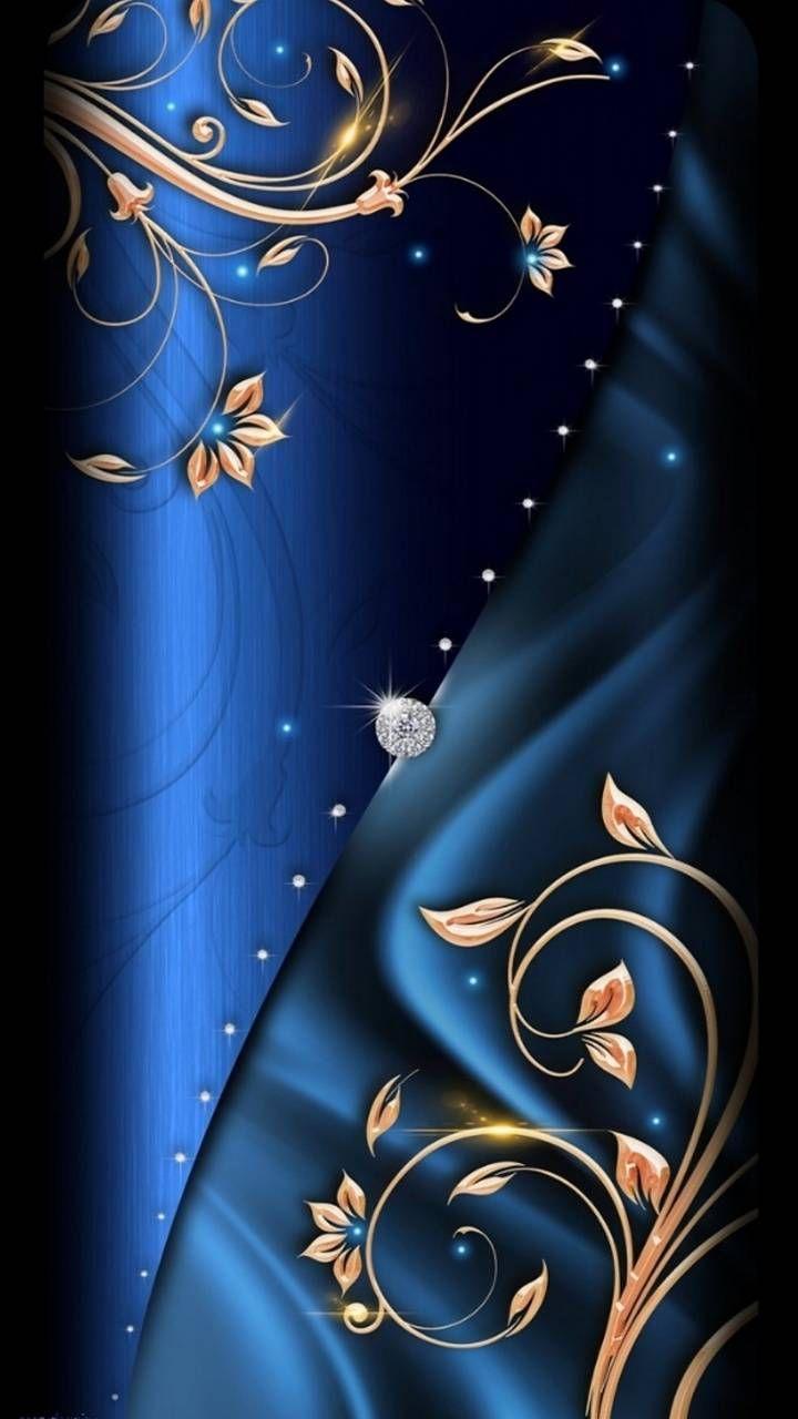 BLUE SILK-DIAMOND wallpaper by hende09 - a6d0 - Free on ZEDGE™
