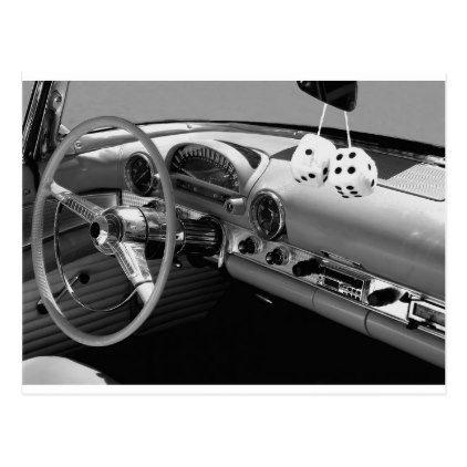 Classic Car Design Postcard Classic Gifts Gift Ideas Diy Custom - Unique classic cars