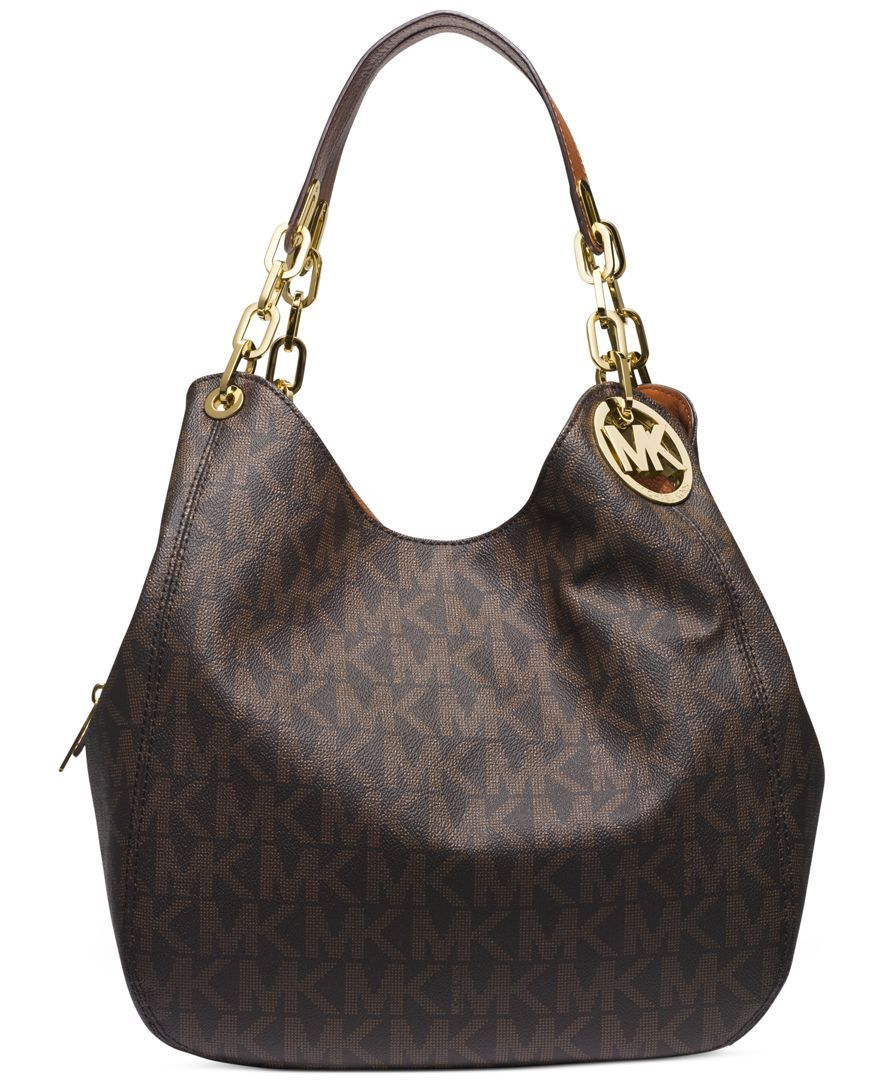 Michael Kors Fulton Large Shoulder Tote Handbags Accessories Macy S