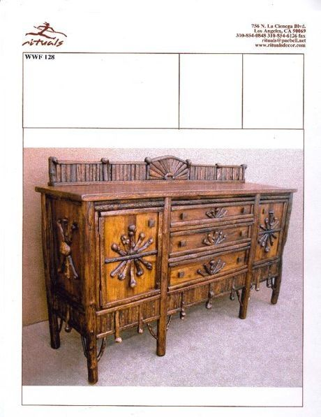 Adirondack twig furniture rituals rustic furniture - Adirondack style bedroom furniture ...