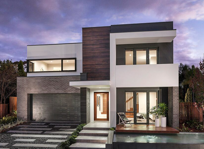 Masterton Homes Tempus Edge Facade New Home Builders House Design Home Builders