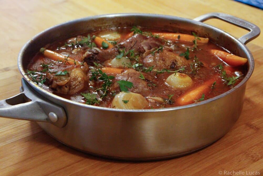 Julia Child S Coq Au Vin Recipe With Step By Step Photos Recipe Coq Au Vin Recipe Recipes Chicken Entrees