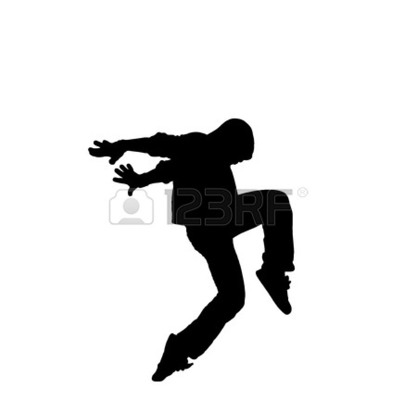 Dance Team Clip Art Black And White
