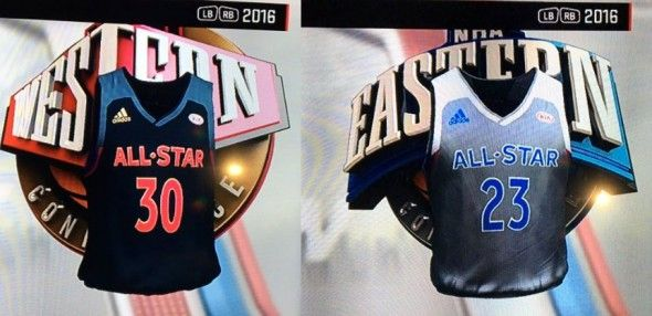 813d1157166 ... we got our first look at the new 2017 nba all star game uniforms  earlier today