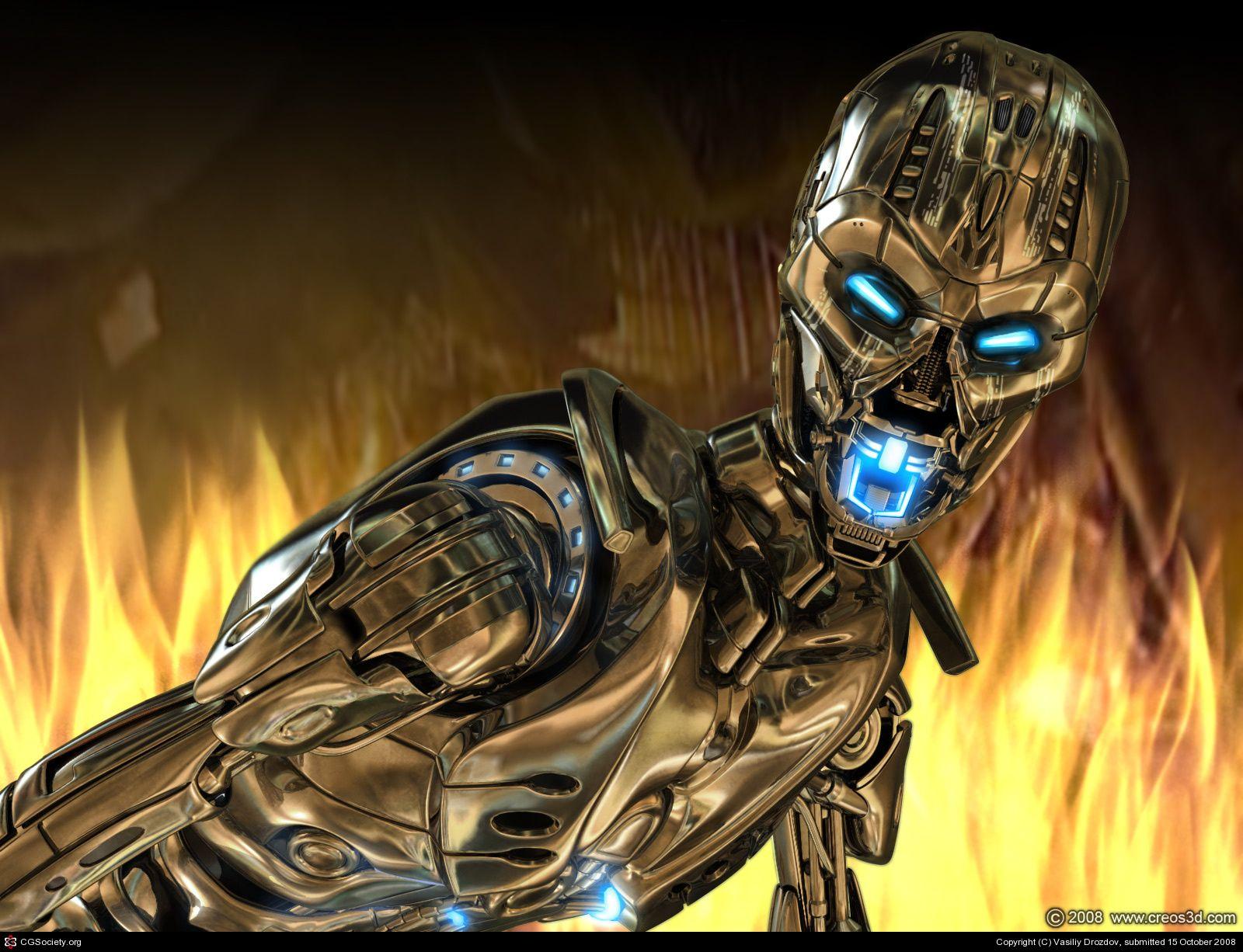 Terminator T-X wallpaper by Vasiliy Drozdov | 3D | CGSociety | SCI FI in 2019 | Terminator ...