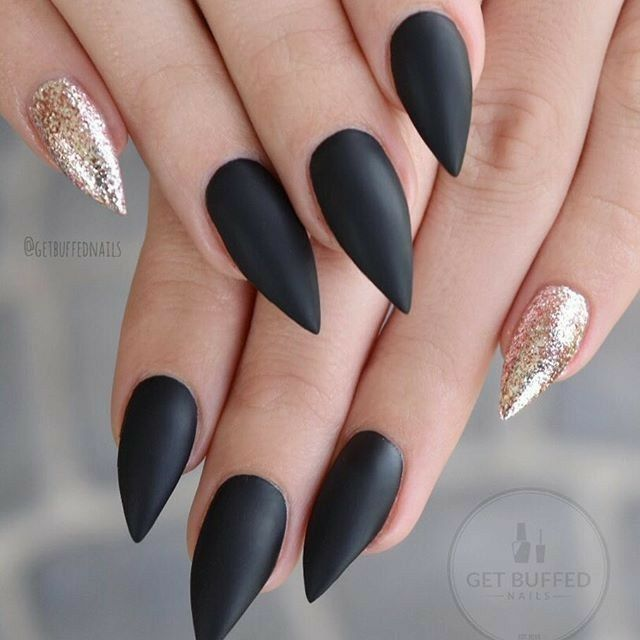 Image result for stiletto gel nails