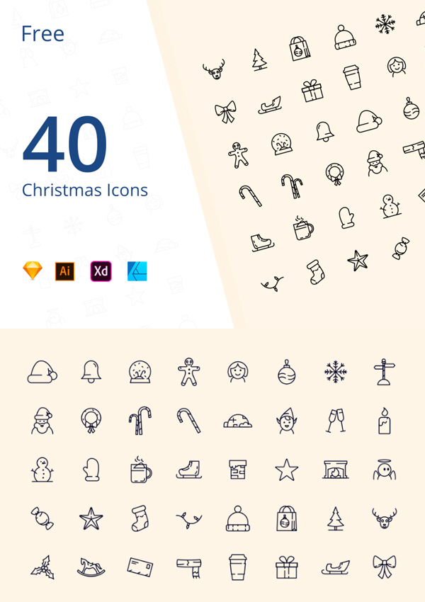 Free Christmas icons (With images) Logo tutorial, Free