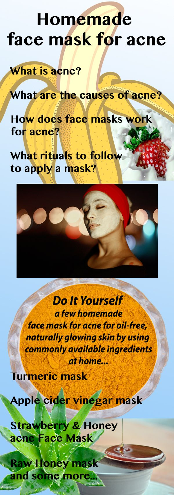 Top 10 Homemade face masks for acne Homemade face masks