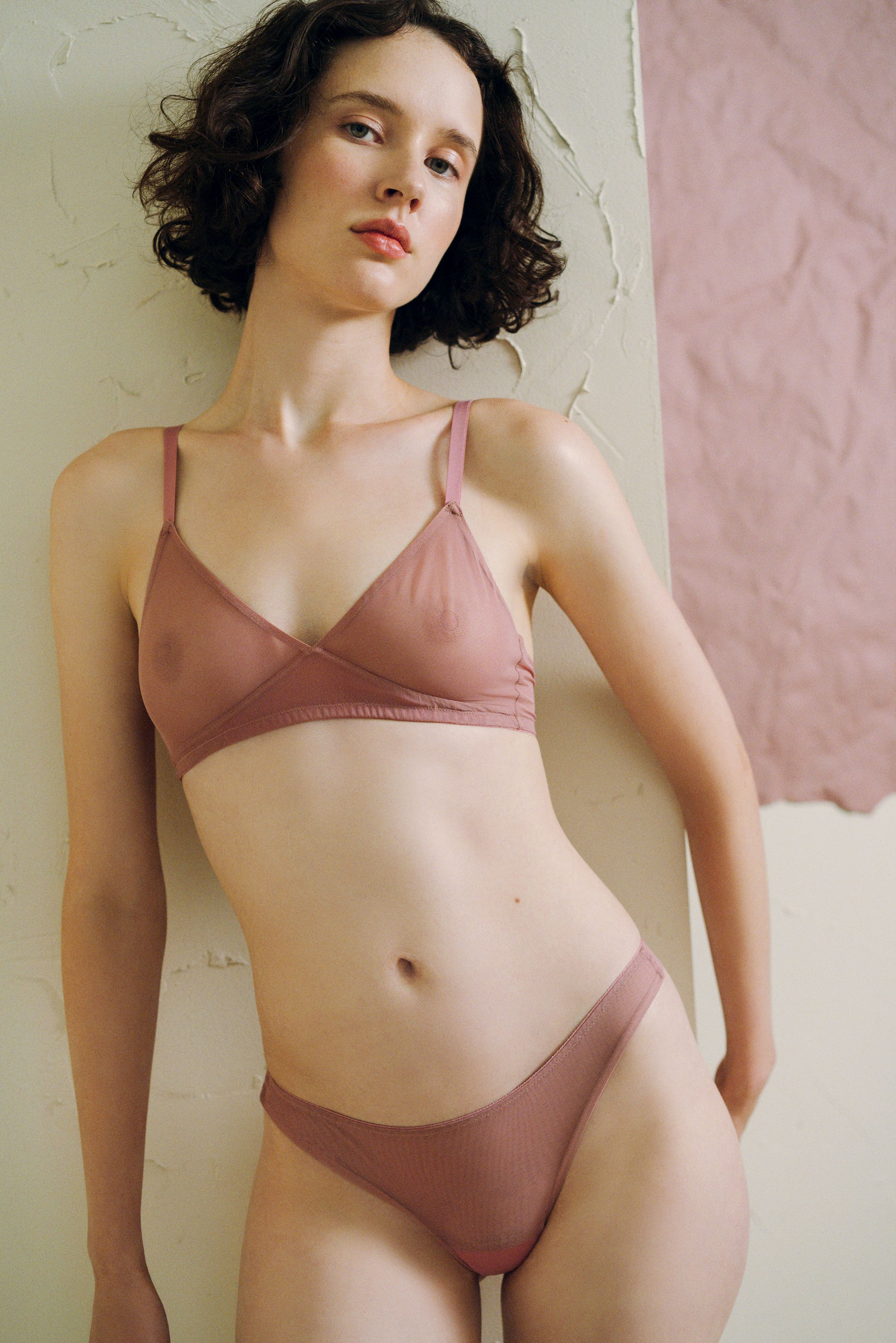 7e69eca70f Canova Seamless Bralette in Rose Dust by The Great Eros