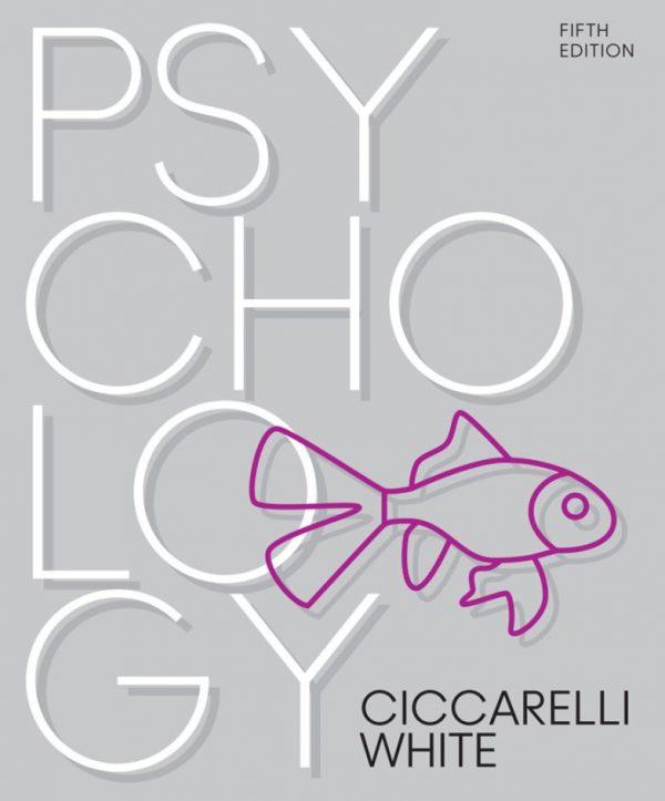 Psychology 5th 5E Saundra Ciccarelli Noland White