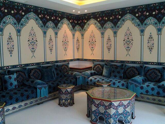 تفصيل وتنفيذ جلسات مغربية ديكورات واقراس على الطوفة واتس 00965 55509662 Arabic Decor Moroccan Decor Moroccan Design