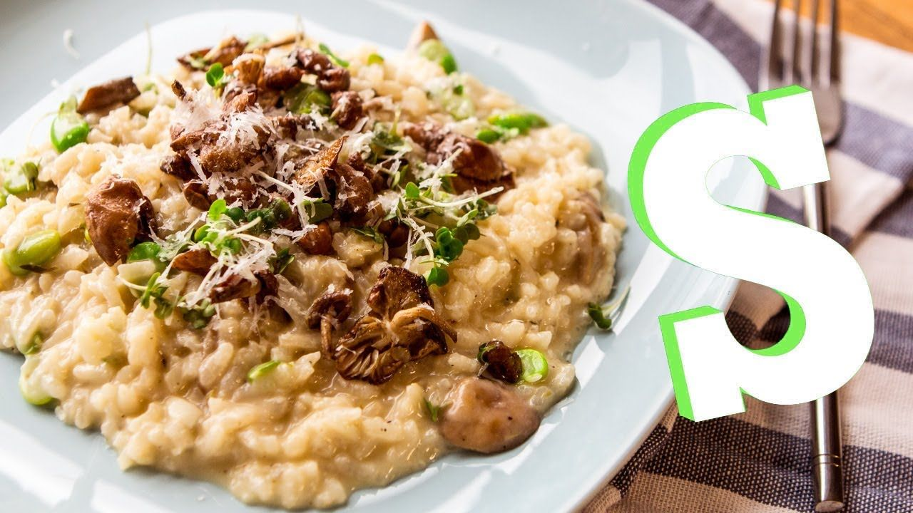 How to make mushroom risotto recipe homemade by sorted great how to make mushroom risotto recipe homemade by sorted great with balsamic braised short recipe videosfood forumfinder Choice Image