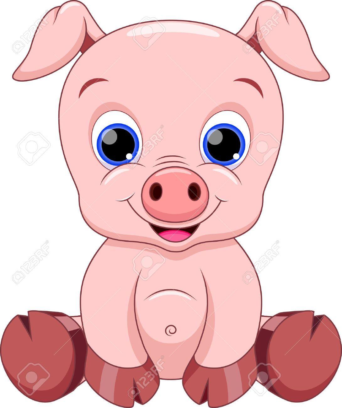 pig illustration | Piggy Art | Pinterest | Pig illustration