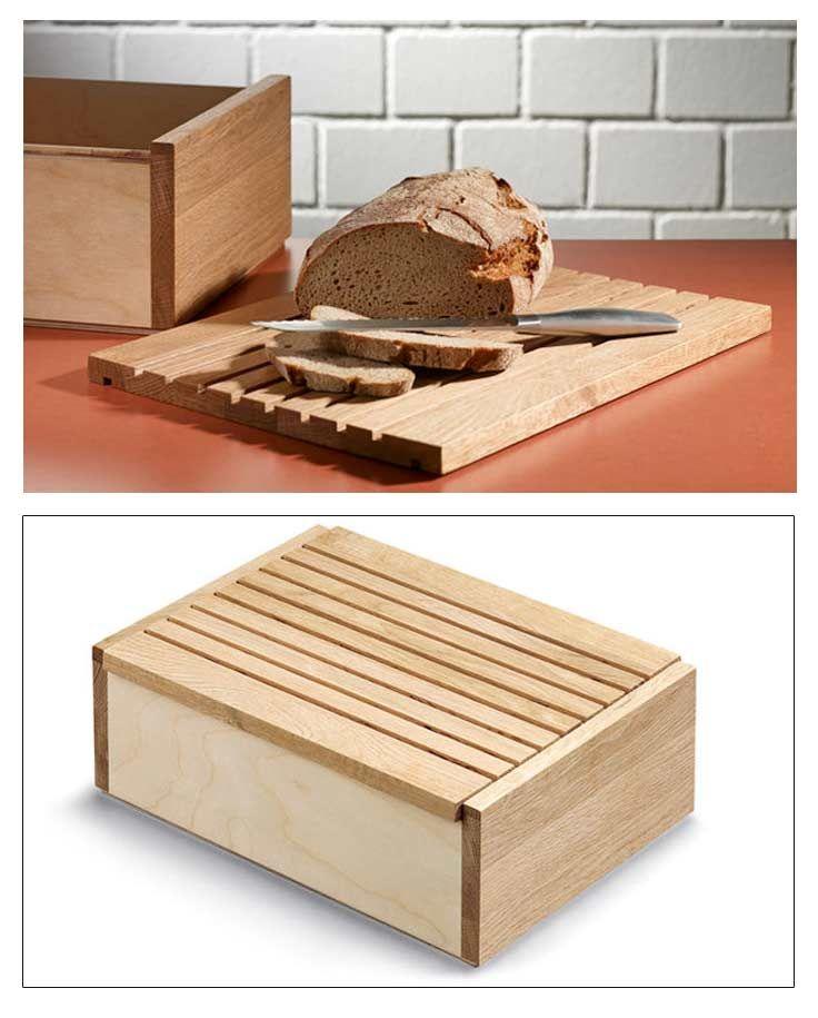 brotkasten mit schneidebrett bauen k chenm bel pinterest. Black Bedroom Furniture Sets. Home Design Ideas