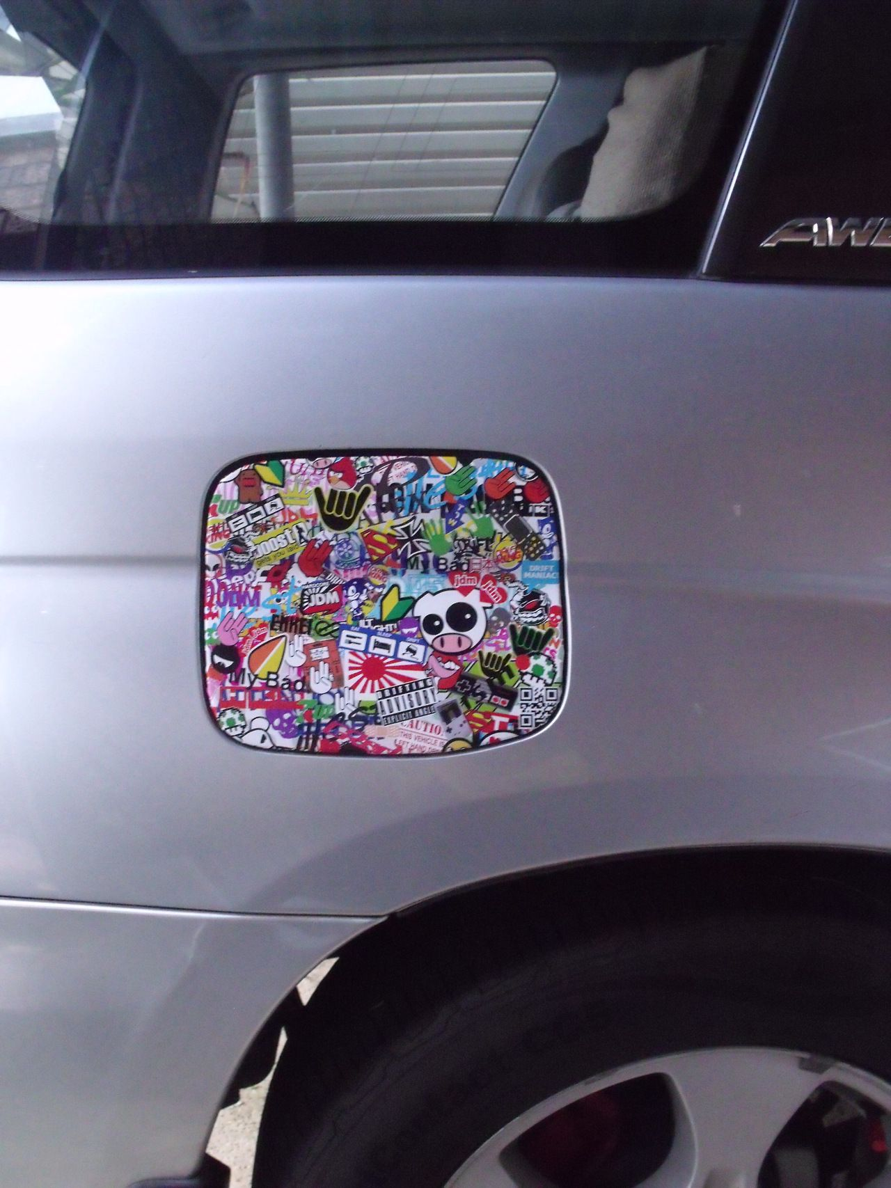 Stickerbomb tumblr vehicle signage sticker bomb car stickers car decals car