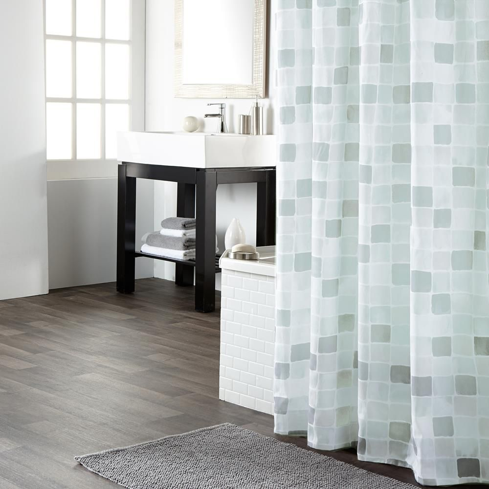 rideau de douche rideaux de douche salle de bain home pinterest rideaux de. Black Bedroom Furniture Sets. Home Design Ideas