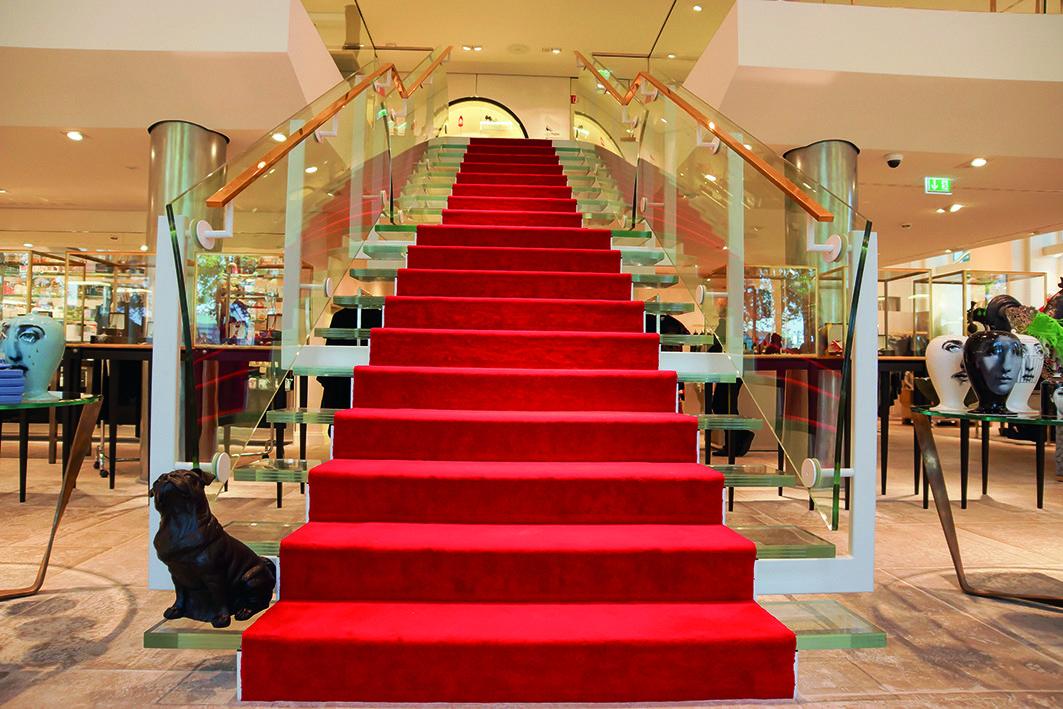 Treppenrenovierung Hamburg eine treppe für den apropos store in hamburg saage
