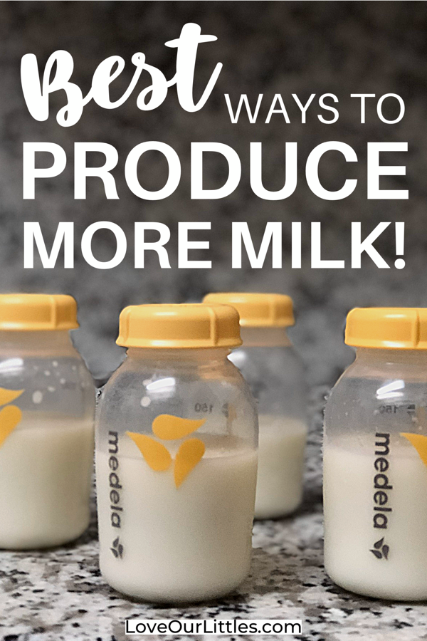 how to produce more breast milk while pumping