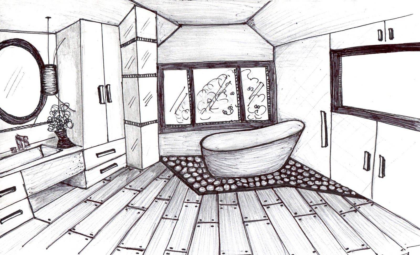 Interior Design Ideas Sketches