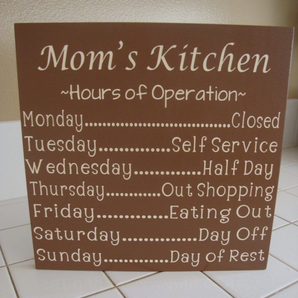 Kitchen Signs Decor Moms Kitchen Sign Decor  Httpavhts  Pinterest  Kitchen Signs