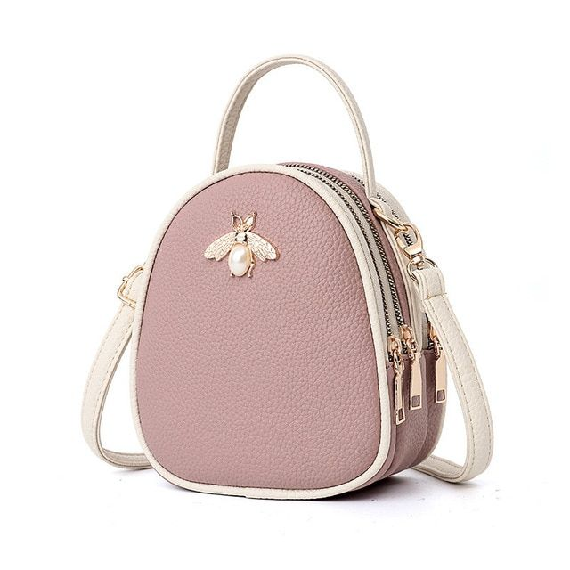 Shoulder crossbody bags leather handbags women bags bee summer small ladies hand bags sac a main - Leather handbags women, Leather shoulder bag, Bags designer, Bags leather handbags, Leather crossbody bag, Small crossbody bag - Shoulder Crossbody Bags Leather Handbags Women Bags Bee Summer Small Ladies Hand Bags Sac A Main