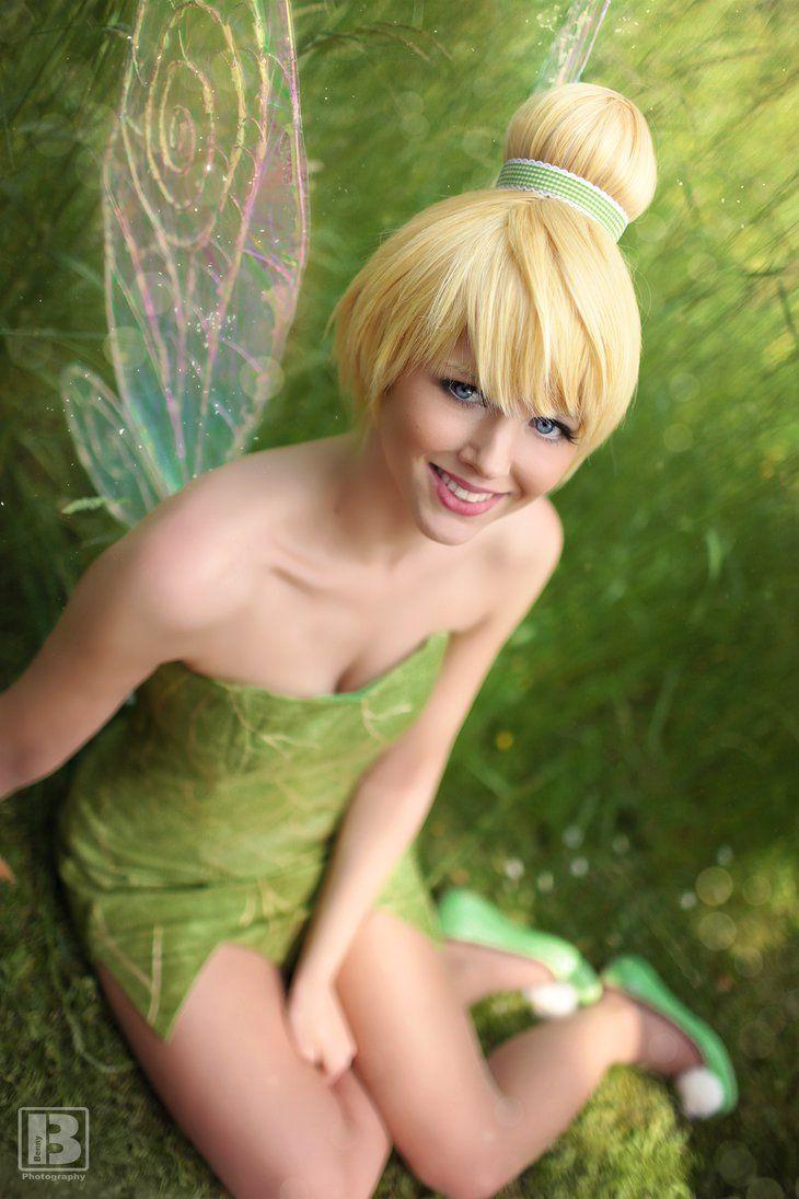 Tinker Bell smile by N4miine