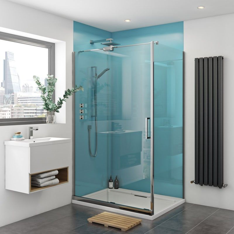 Zenolite Plus Water Acrylic Shower Wall Panel Pack For Enclosures Up To 1000 X 1220 Acrylic Shower Walls Shower Wall Panels Acrylic Wall Panels