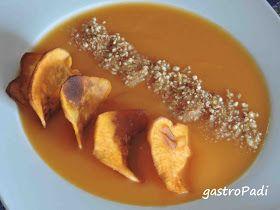 GastroPadi: Crema de calabaza y boniato