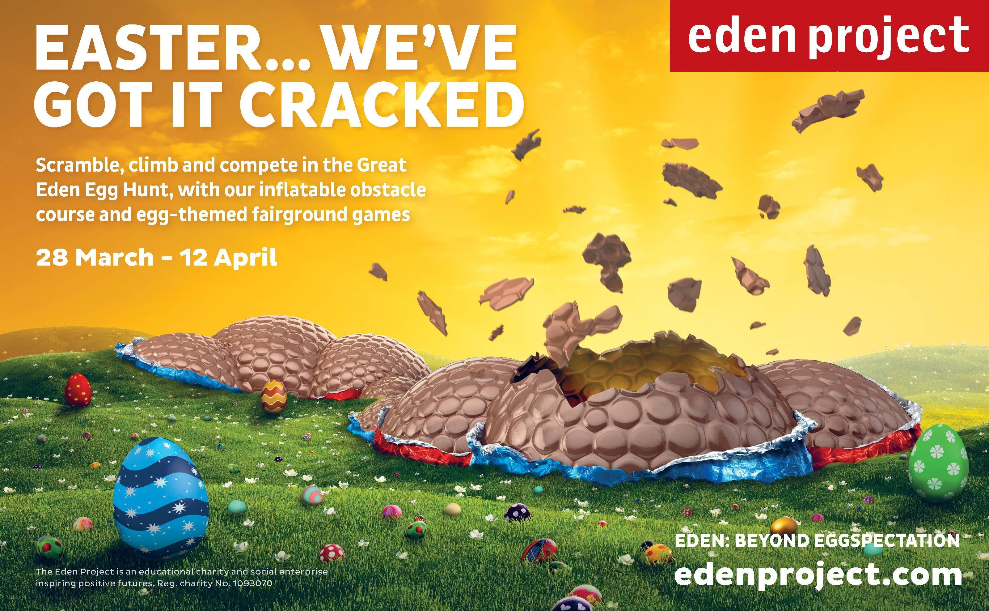 Eden Project Easter event
